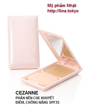 Phấn nền Cezanne Ultra Cover UV Foundation