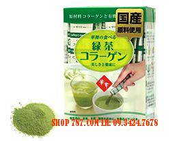Collagen Hanamai Trà xanh (green tea)