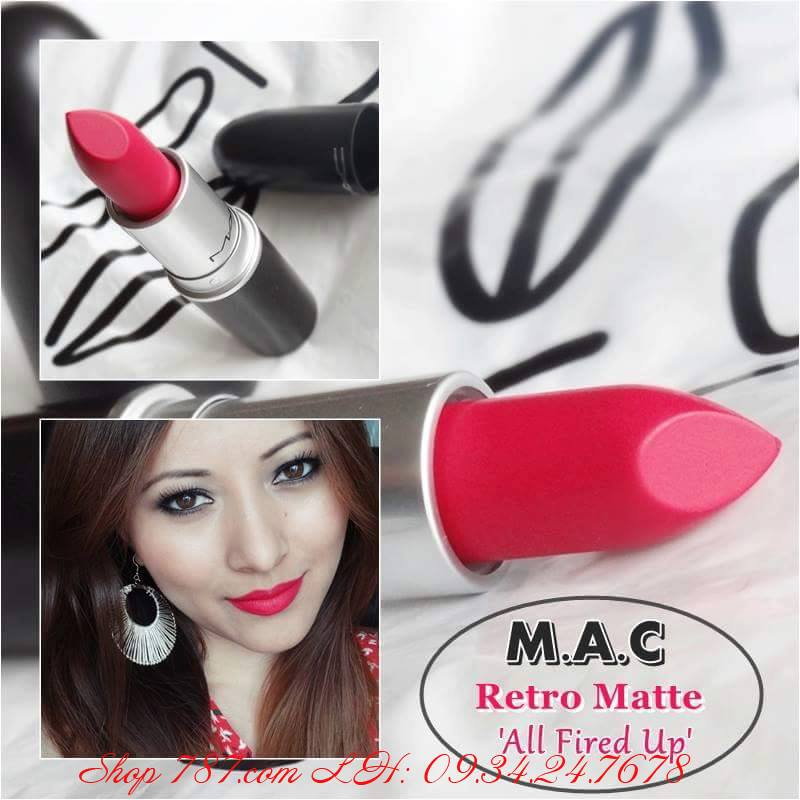 MAC All Fire Up và Relentlessly Red